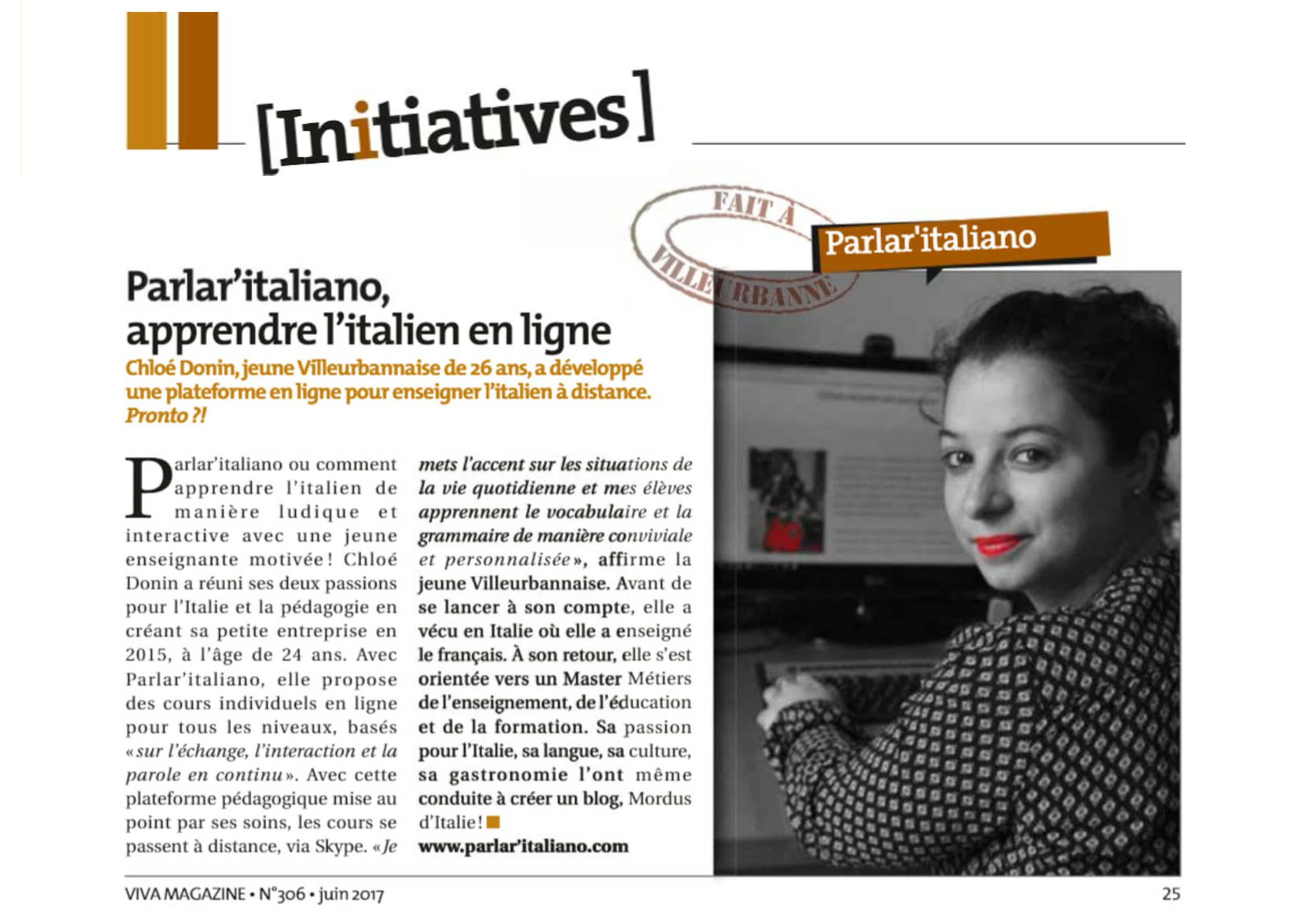 apprendre l'italien à Villeurbanne