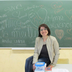 Professeur de français et d'italien