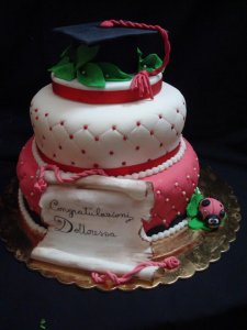 gâteau du diplômé
