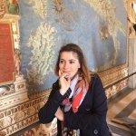 Lola au musée du Vatican