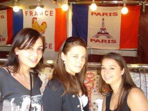 3 françaises en terre italienne