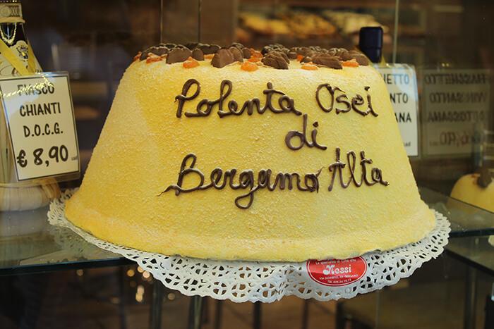 Polenta gâteau bergame