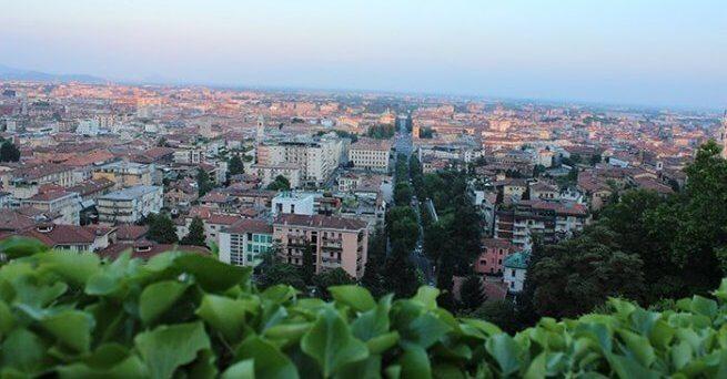 vue de Bergamo