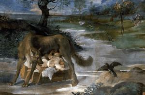 Romulus et Remus, Palazzo Magnani