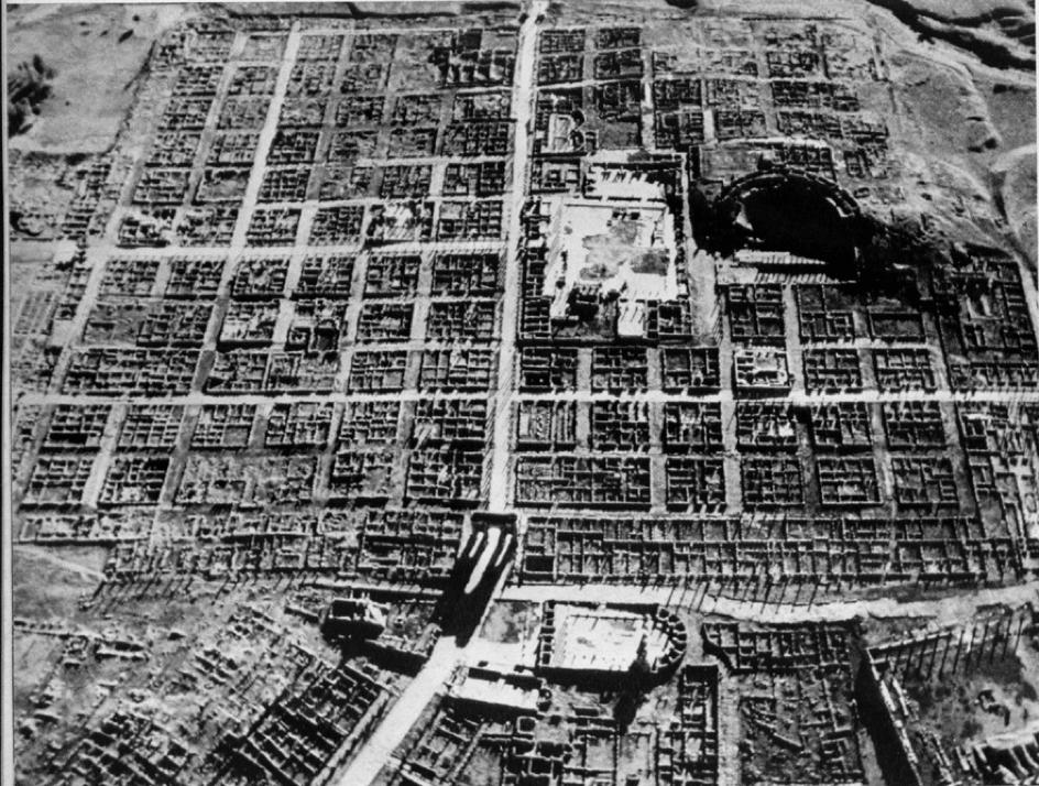 Timgad colonie romaine
