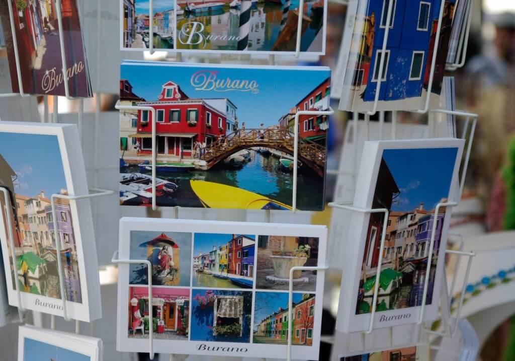 carte postale italie