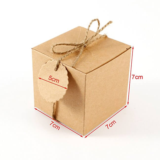 petites boîtes carton à décorer