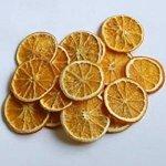 tranches oranges séchées déco