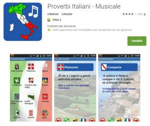 Proverbes italiens - Dialectes italiens