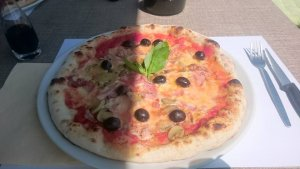 commander un pizza en italien