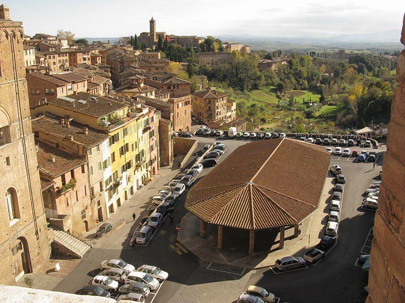 Piazza del Mercato - Siena