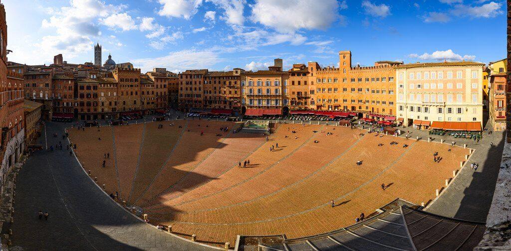 Piazza del campo - Sienne