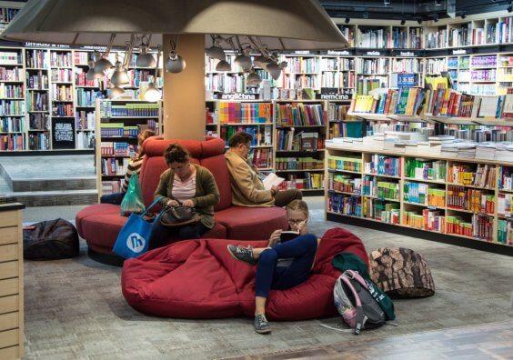 la bibliothèque de la toile