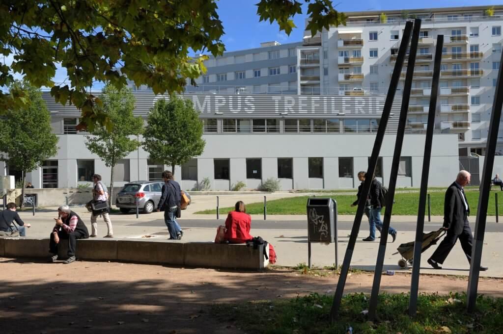 campus trefilerie universite saint etienne