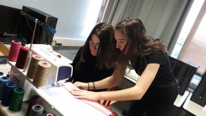 un projet d'ecomode lycée Leonard de Vinci Monistrol
