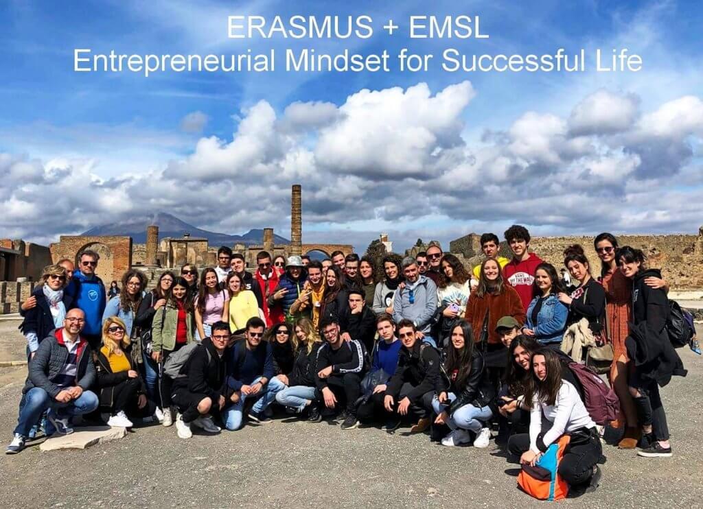 Entreprendre Yes Erasmus+ Italie