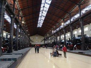 Musée de train Pietrarsa à Portici