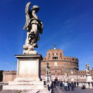 Rome et le Château Saint Ange - Le plaisir d'apprendre l'italien